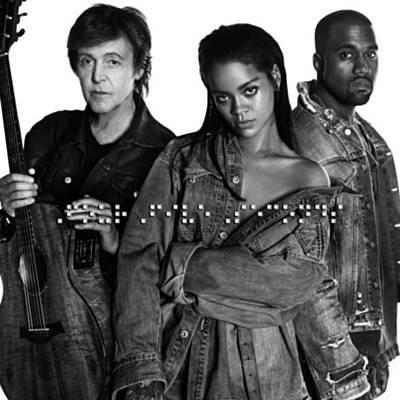 Rihanna - FourFiveSeconds (feat. Kanye West feat Paul McCartney)